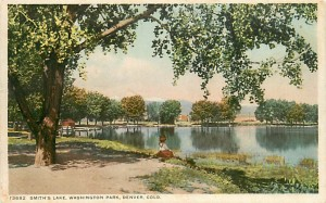 Denver's Wash Park, early 1900's
